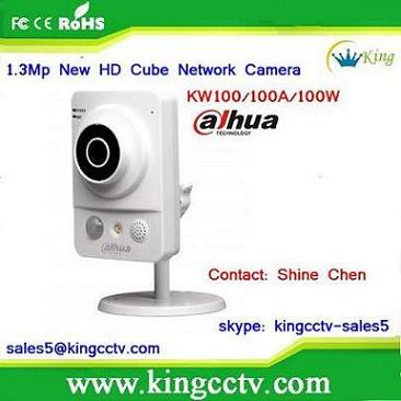 maginon ip camera outdoor new 2014 dahua HD cube IP Camera IPC-KW100 HD Cube home camera