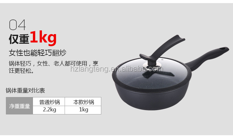 Non-stick Cast Iron Deep Frying Pan