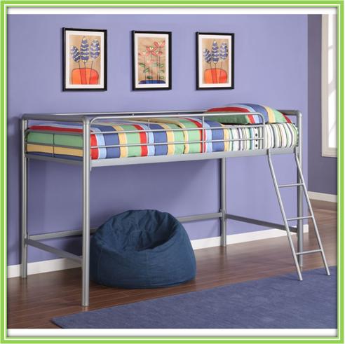 Metal Mid Sleeper Cabin Bunk Beds For Children