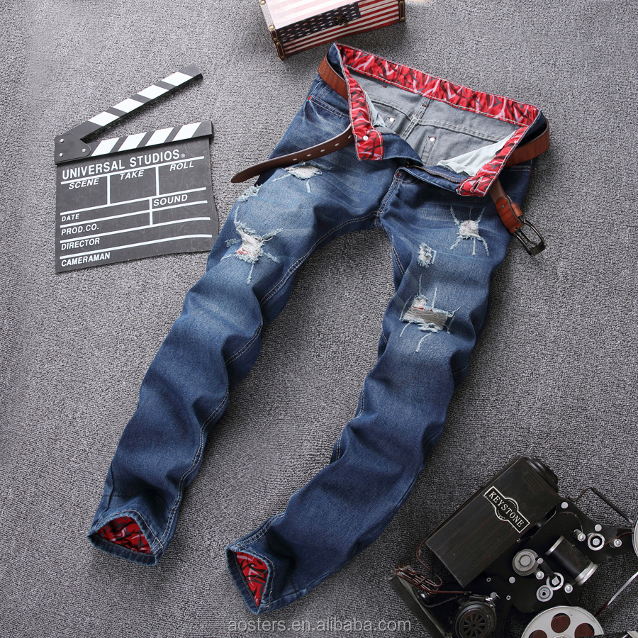 hot sale washed indigo straight leg high waist denim jeans made in china free shipping