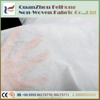 Eco-Friendly Non-Toxic Breathable PP Spunbond White Color Nonwoven Fabric for Making Mask