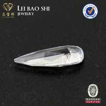 AAA/AAAAA Grade Fashion White Charming Long Pear Shape cz Cubic Zirconia Stone
