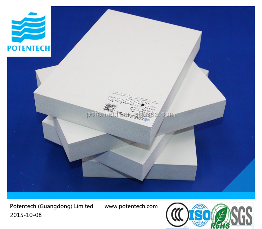 Recycled Plastic White PVC Foam Board 1mm to 40mm