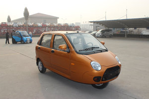 DOT approved Fulu cheap passenger use close cabine 600cc 3 wheel car/passenger tricycle