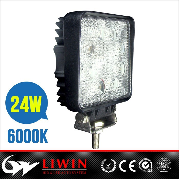 "24v truck led work light 4.3"" 24w 2160lm led working light for electric bicycle auto bulbs mini tractor"