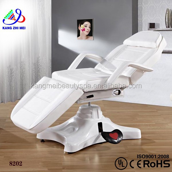 2015 wholesale factory electric PU leather beauty facial bed chair jade roller massage bed 8202