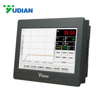 YUDIAN AI-3702M 2 channel touch screen Temperature Recorder