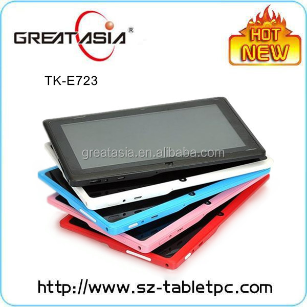 Shenzhen brand your own tablet Q88 7 inch with CE ROHS certification