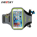 5.5 Inch Reflective sports armband,GYM cellphone armband,universal mobile arm bands with key holder
