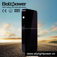 rechargeable 600MAH Lithium Polymer battery power show car starter will jump start gas engines