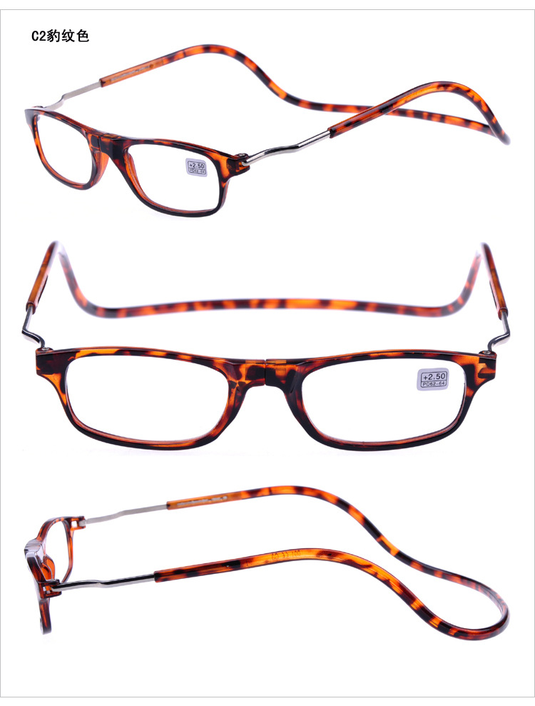 top grade selling magnetic click reading glasses