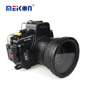Meikon wholesale waterproof DSRL underwater camera housing for Canon EOS 80D
