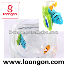 Loongon BO toys battery operated swimming fish