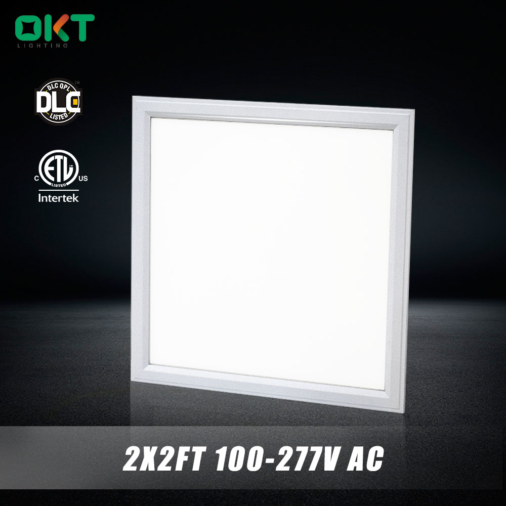 New construction UL DLC LM79 2x2 LED troffer fixture ( UL NO.:E360437) led panel 602x602