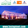 Double layer PVC Coated Fabric Wedding Party Marquee Canopy Tent for marriage hall with Air Condition and Banquet tables