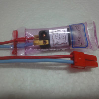 Refrigerator 2 wires bi-metal defrost thermostat