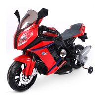 New kids ride on motorcycle with LED light kids electric motorcycle