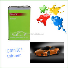 Cheap price low water content solvent thinner for car paint