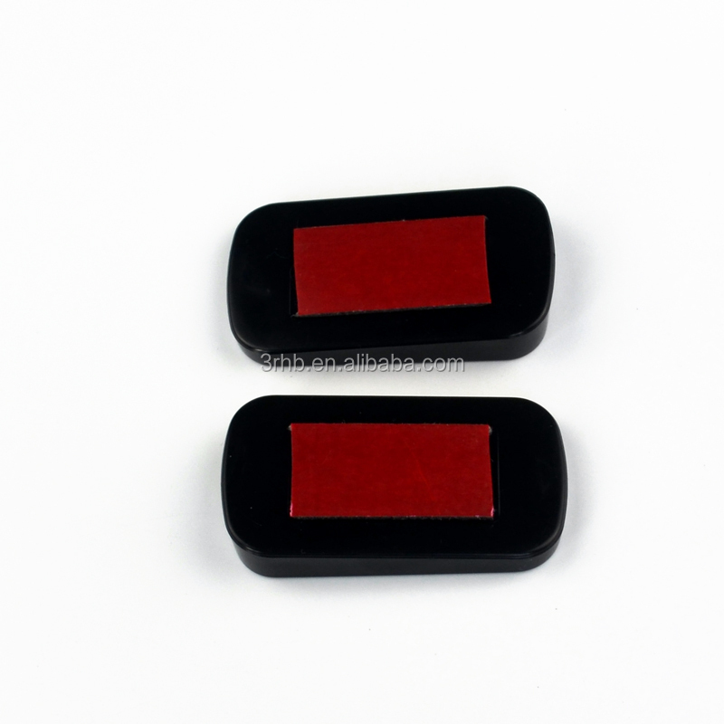 Pack Of 2 Rectangular Designed Back Rear View Mirror