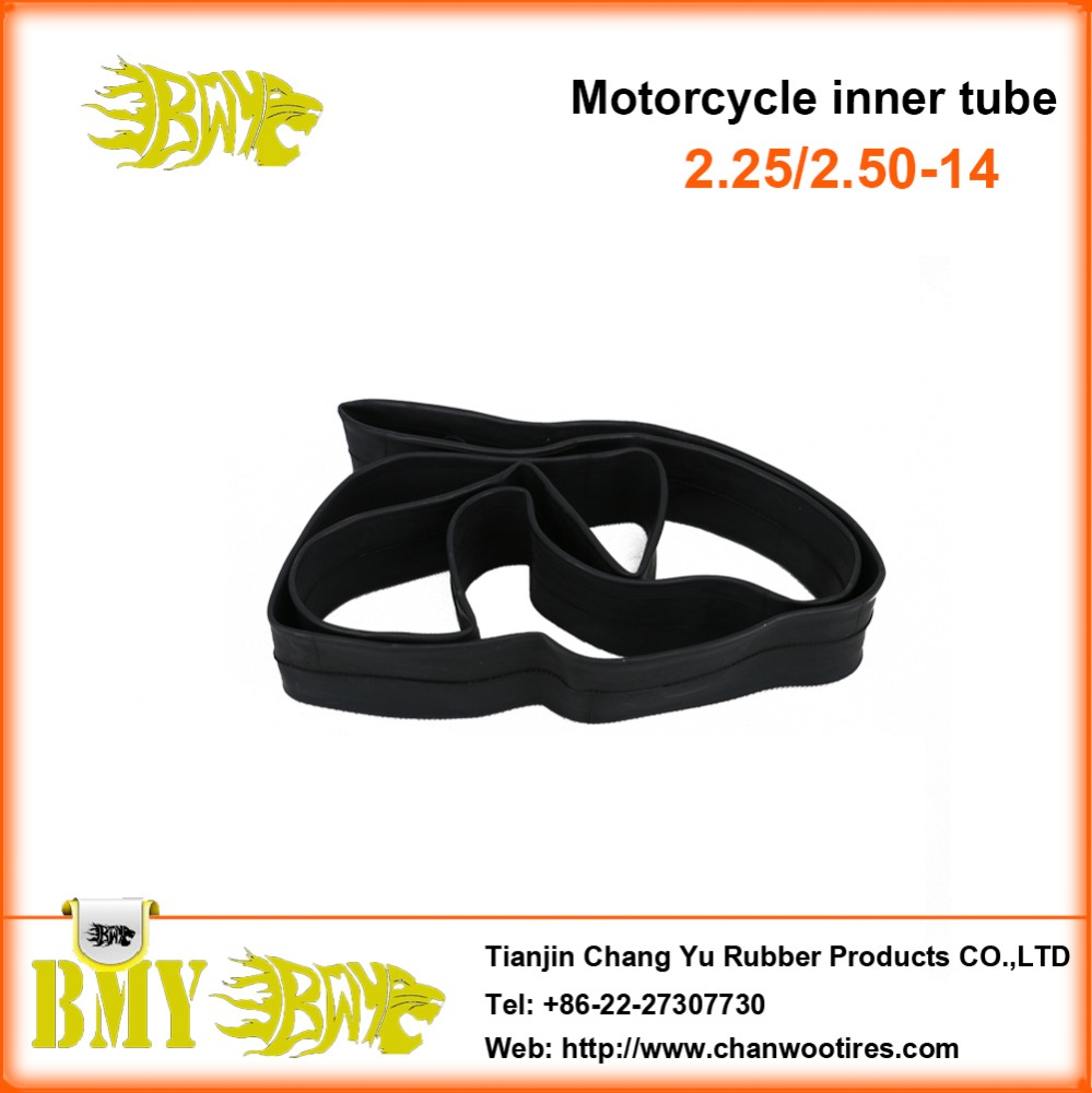 Tianjin China factory supplies hot sale 2.25/2.50-14 motorcycle inner tube