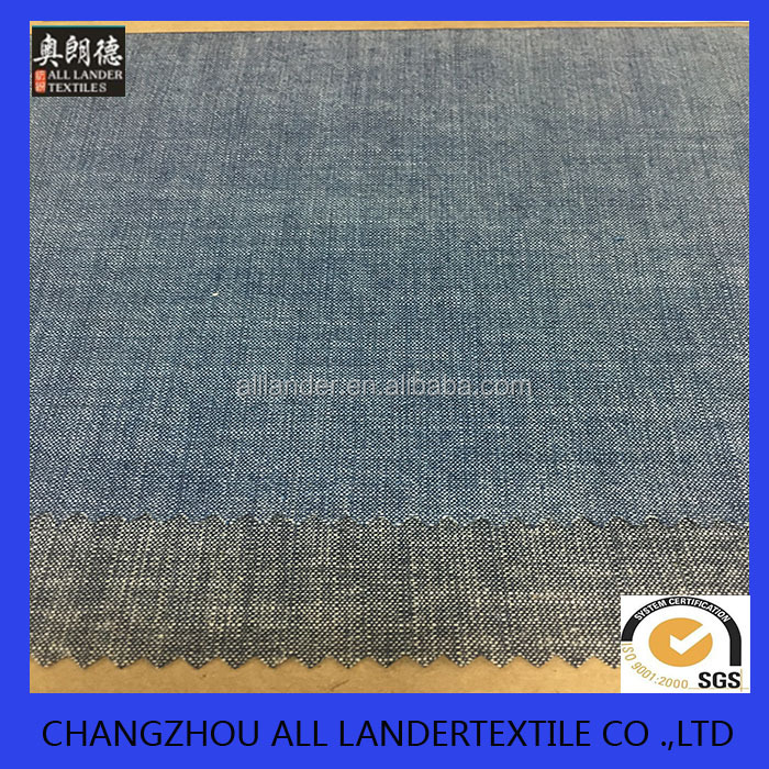 cotton denim fabric 100%cotton fr shrits or dress