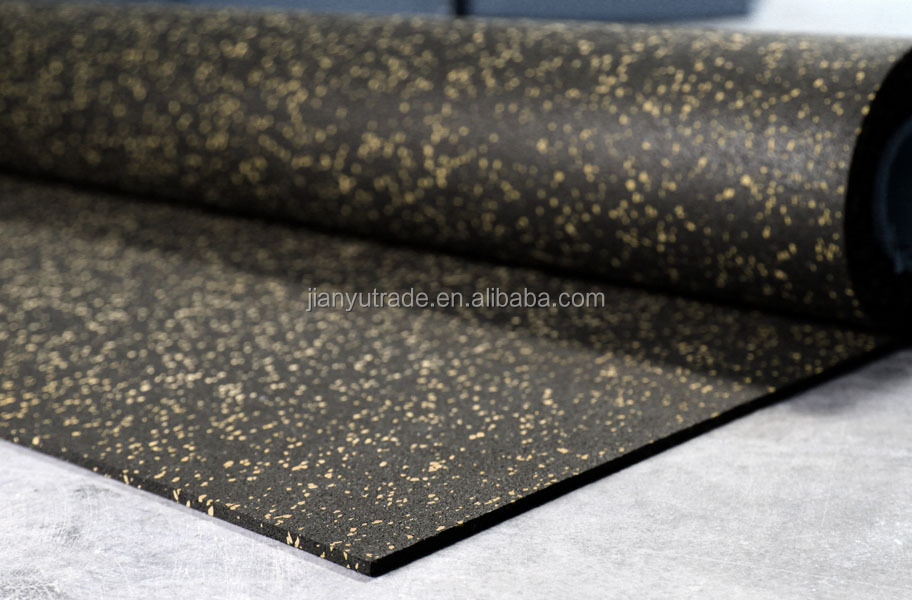 Wholesale High standard fitness New Gym rubber mat for gym equipment