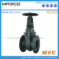 Customized design iron or steel body material soft EPDM NBR seated resilient wedge gate valve