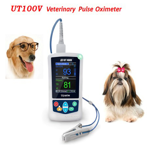 Vet-Handheld Pulse Oximeter from Manufacturer with White Color