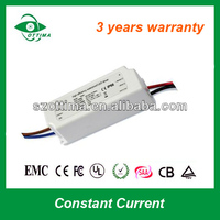 3 years warranty 1x3w led driver external constant current triac dimmer led strip light driver