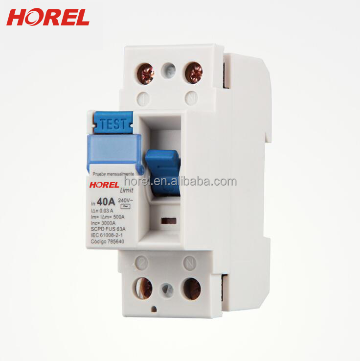 F360 F362 F364 2P 4P RCD circuit breaker rccb current rating