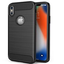 Soft Slim Carbon Fiber Tpu Silicone Cell Phone Case for Huawei Mate 20 Pro/Enjoy 9 Plus/Honor Note <strong>10</strong>