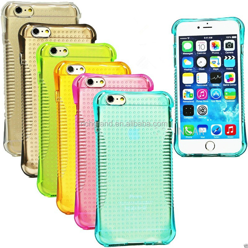 Hot selling super slim rubber soft silicone Gel skin case cover for iphone 6 6plus