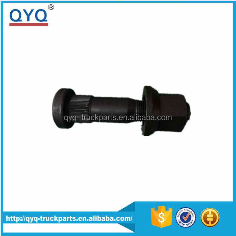 Best Quality Factory price Euro truck spare parts oem 8152104 rear wheel hub bolt and nut for volvo FM12 FH12 stud bolt