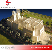 plastic architectural scale models with best material