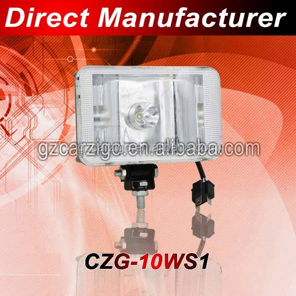DC 12v 24v mining vehicle machine accessories 5000K RZ neutral white made in Dongguan off-road work light led