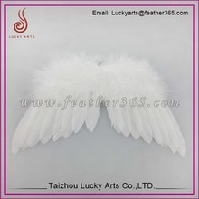Lucky Arts good quality Wholesale large feather angel wings