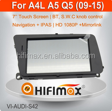 Hifimax Multimedia Video interface with GPS navigation for AUDI A4 A5 Q5
