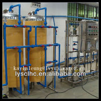 Semi- automatic control drinking water treatment plant