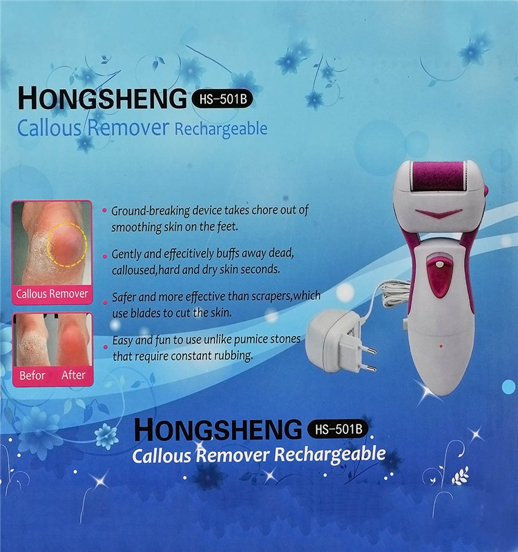 2016 New Fashion Callus Remover/Rechargeable Callus Remover/Foot Callus Remover