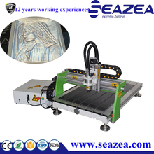 Professional Advertising cnc router 6090 / mini wood design cutting machine For Pcb / pvc / aluminum