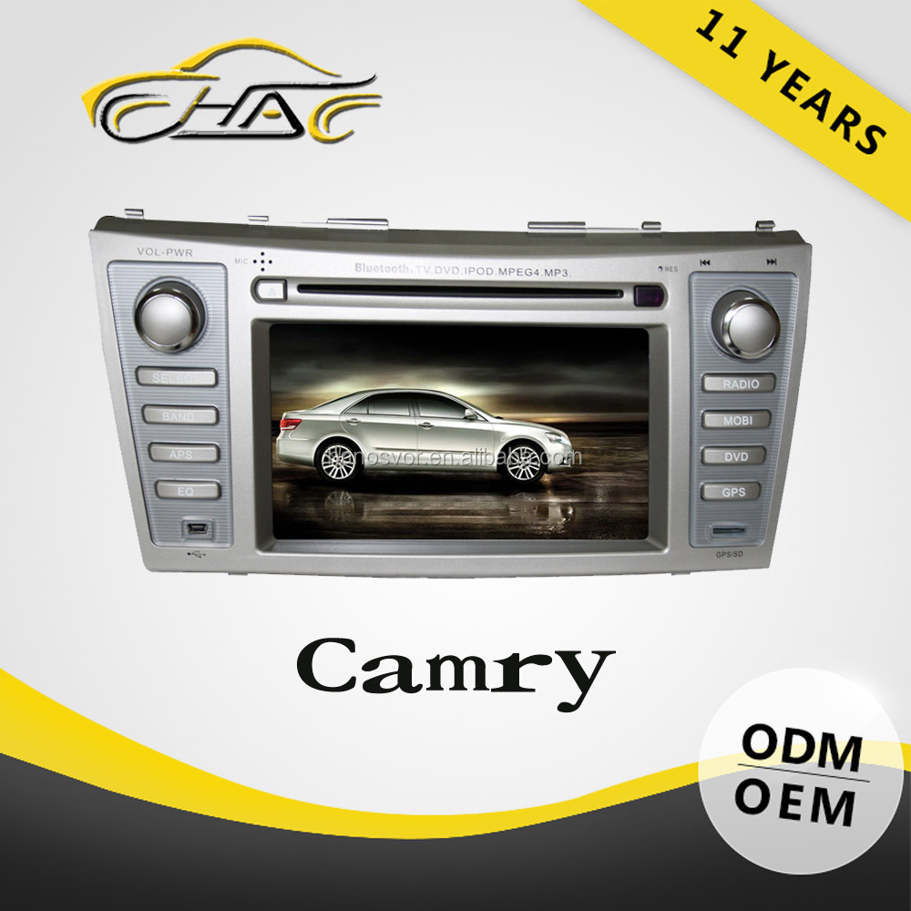 7 inch double din New Dvd/gps/radio/tv/usb/sd/Car Navigation system for Toyota for Camry