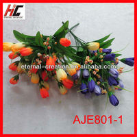 Wholesale silk flowers orange blossom flower for church decoration