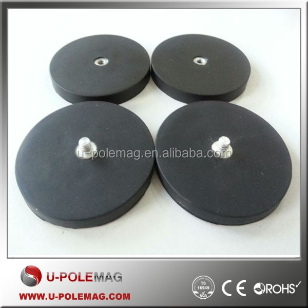 Rubber Coated Adhesive Backed Magnet