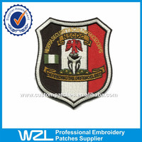 Flag patch to wholesale polo patches of clothing