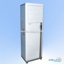 Low consumption energy efficient showcase freezer refrigeration air cooler CE certified AERO2C