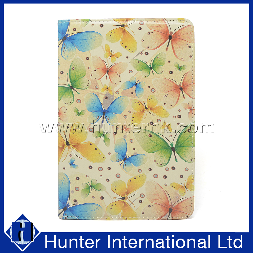 Printed Butterfly Rotating Case For iPad Mini 4