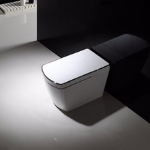 One piece color Ceramic bathroom sanitary ware woman toilet