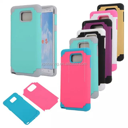 Shockproof 2 in 1 case back cover for Samsung Galaxy Note 5
