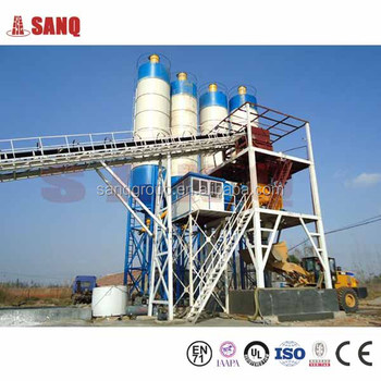 Euro Standard 120m3/h HZS120 Ready Mixed Concrete Mixing Plant