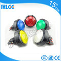 Low voltage momentary led push button switch